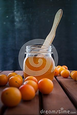 Jam of plums
