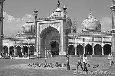 Jama Masjid Editorial Photography