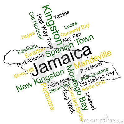Jamaica Map and Cities