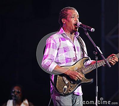 Jamaican Kurfew band Editorial Stock Photo