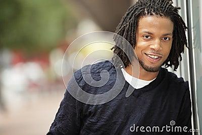 Jamaican man smiling