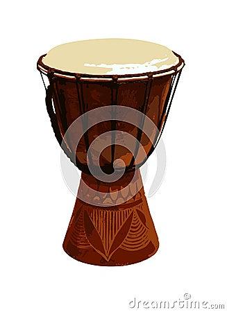 Jambe Drum