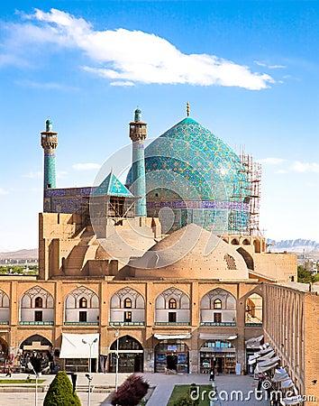 Jame Abbasi mosque, Esfahan, Iran