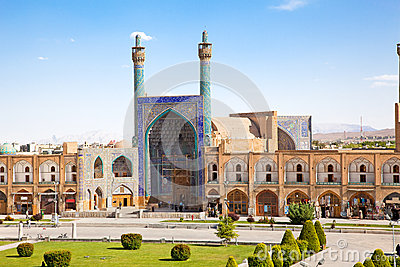 Jame Abbasi mosque, Esfahan,  Iran Editorial Photo
