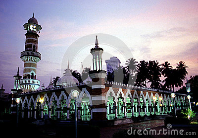 Jamek Mosque Editorial Image
