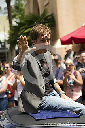 James Arnold Taylor (Obi-Wan Kenobi) Editorial Stock Image