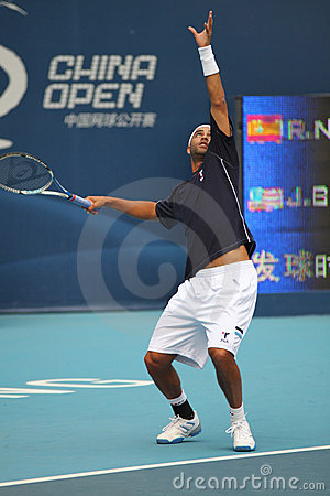 James Blake (USA), professional tennis player Editorial Stock Photo
