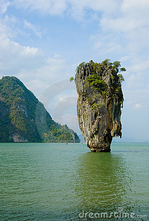 James Bond Island, Phang Nga, Thailand Royalty Free Stock Images - Image: 11005929
