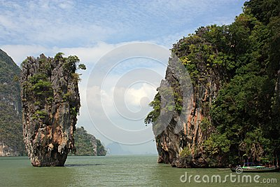 James Bond island. Phuket. Thailand
