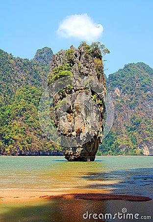 James Bond rock in Thailand