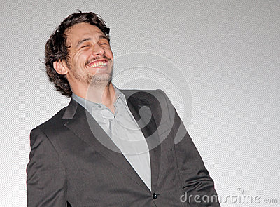 James Franco Laughing Editorial Stock Image