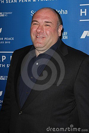 James Gandolfini Editorial Stock Image
