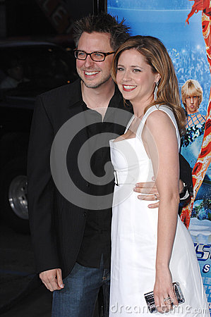 James Gunn,Jenna Fischer Editorial Stock Photo