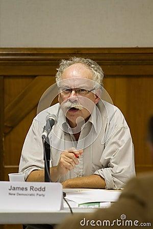 James Rodd/PEI NDP Leader Editorial Photo