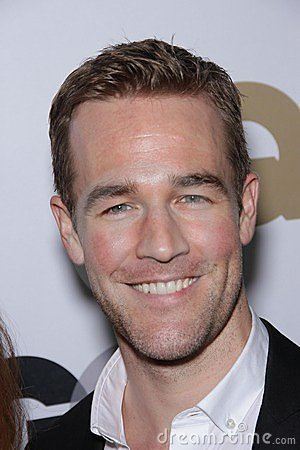 James Van Der Beek Editorial Stock Image