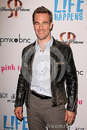 James Van Der Beek Editorial Image