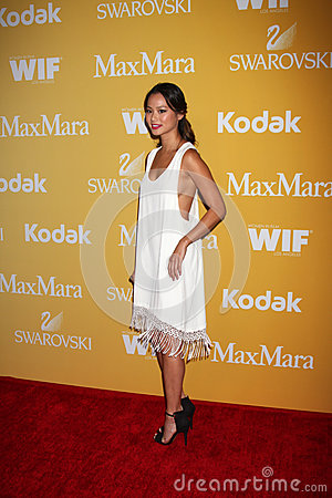 Jamie Chung arrives at the City of Hope s Music And Entertainment Industry Group Honors Bob Pittman Event Editorial Stock Image