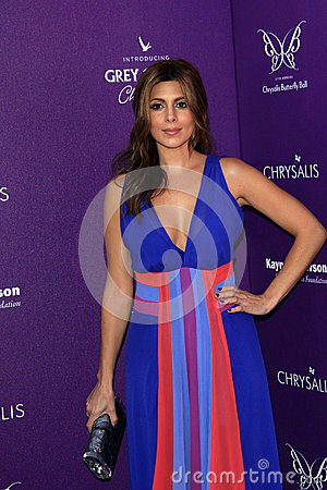 Jamie Lynn Sigler arriving at 11th Annual Chrysalis Butterfly Ball Editorial Photo