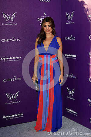 Jamie Lynn Sigler arriving at 11th Annual Chrysalis Butterfly Ball Editorial Photography