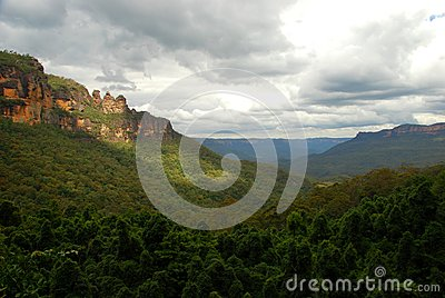 Jamison Valley, Blue Mountains National Park, New South Wales, Australia