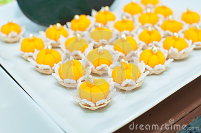Jamongkut a traditional Thai dessert
