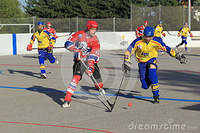 Jan Blasko - czech ball hockey extraleague Editorial Image