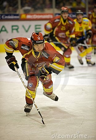 Jan Cadieux - GSHC Editorial Stock Image