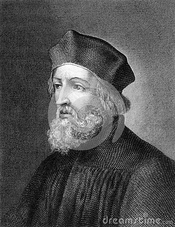 Jan Hus Editorial Stock Photo