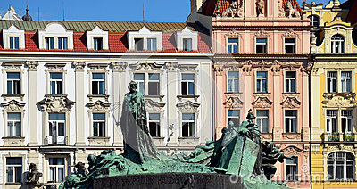 Jan Hus monument, Prague sights