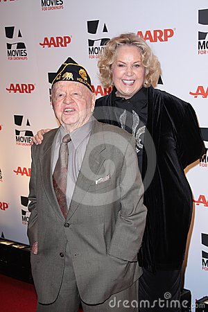 Jan Rooney,Mickey Rooney Editorial Stock Image