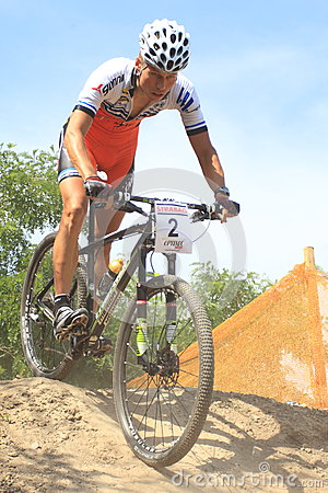 Jan Skarnitzl - MTB cross country Editorial Stock Photo