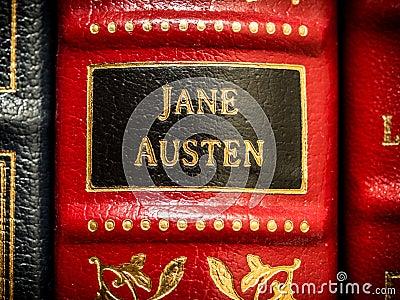 Jane Austen Author Editorial Image