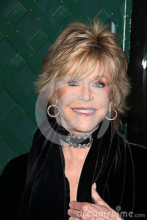 Jane Fonda Editorial Stock Image