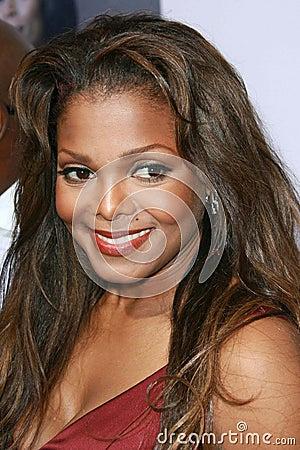 Janet Jackson Editorial Image