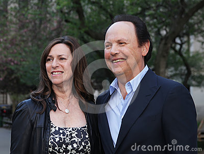 Janice Goldfinger Crystal and Billy Crystal Editorial Photo