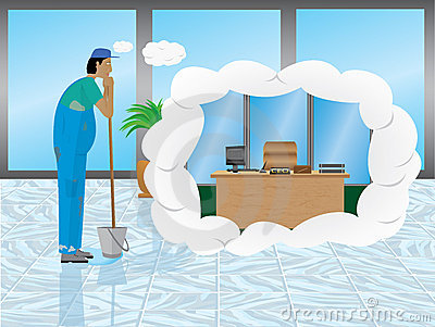 Janitor s daydream