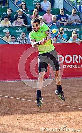 Janko Tipsarevic Editorial Photography