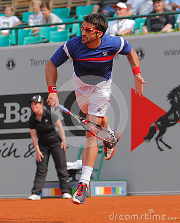 Janko Tipsarevic, Tennis  2012 Editorial Photography