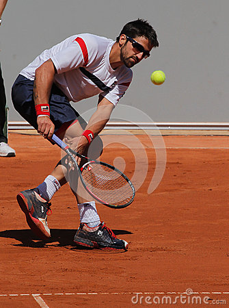 Janko Tipsarevic Tennis Player Editorial Stock Photo