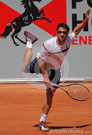Janko Tipsarevic Tennis Player Editorial Image