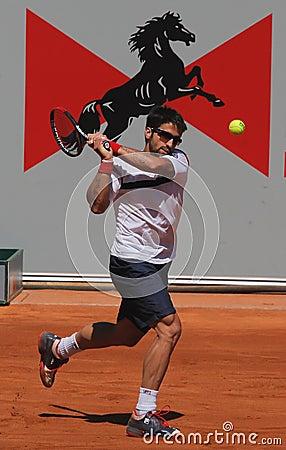 Janko Tipsarevic Tennis Player Editorial Stock Image