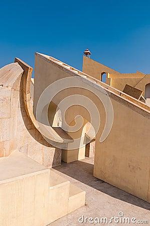 The Jantar Mantar observatory in Jaipur