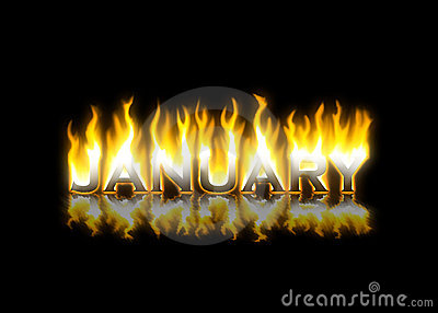 January on Fire