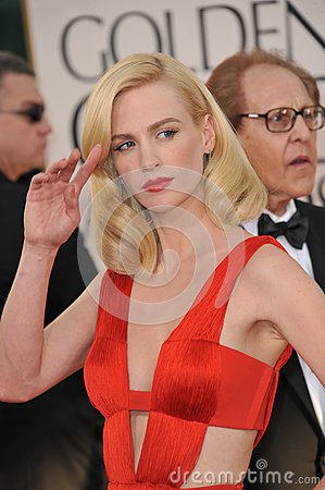 January Jones Editorial Stock Photo