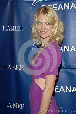 January Jones Editorial Stock Image