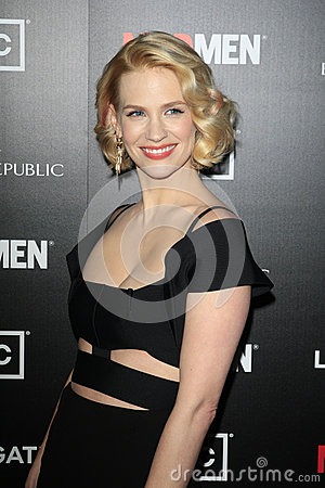 January Jones,Madness Editorial Stock Photo