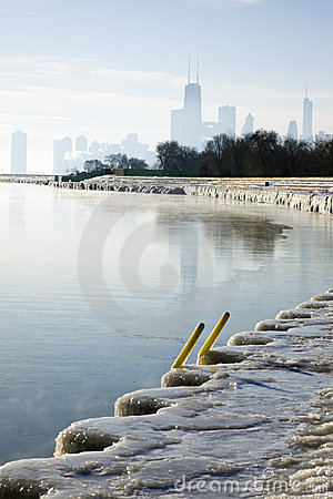 January morning in Chicago