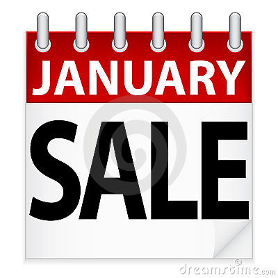 January Sale Icon