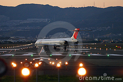 Japan Airlines Editorial Stock Image