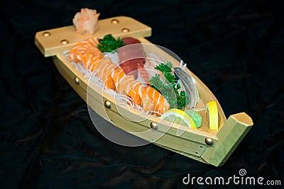 Japan food on boat